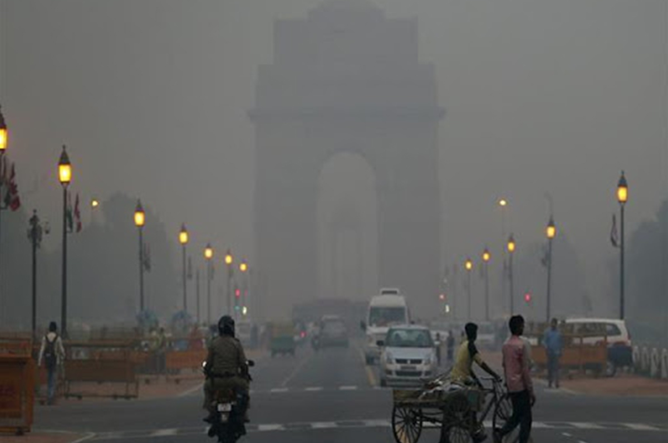 Air Pollution Soars In Delhi