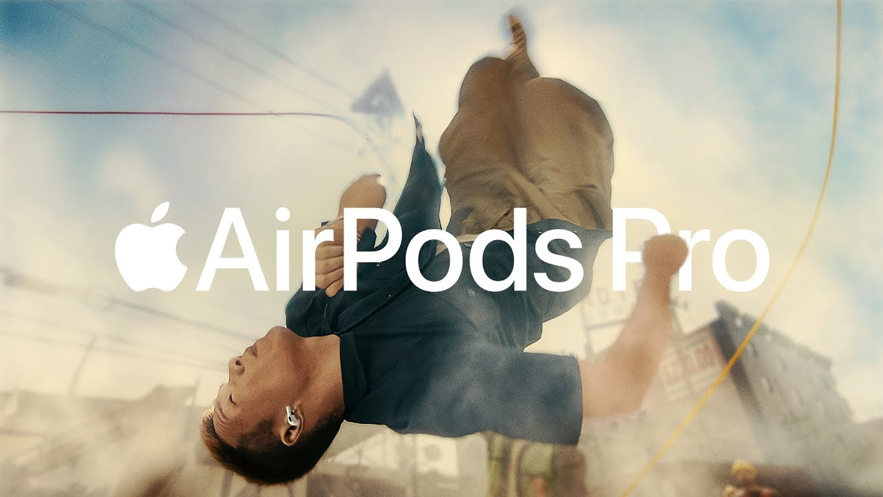 Apple releases a music video to promote AirPods